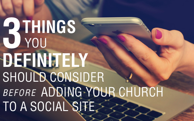 WHAT TO CONSIDER BEFORE JUMPING ON A SOCIAL SITE